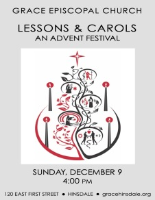 2018 Lessons and Carols Poster