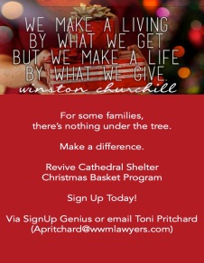 2018 ReVive Christmas Basket Poster